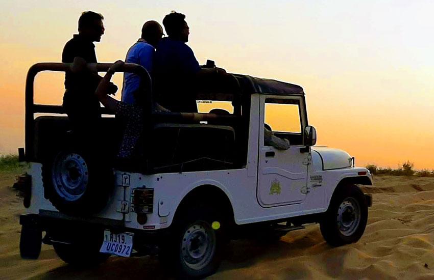 Jeep Safari in Osian