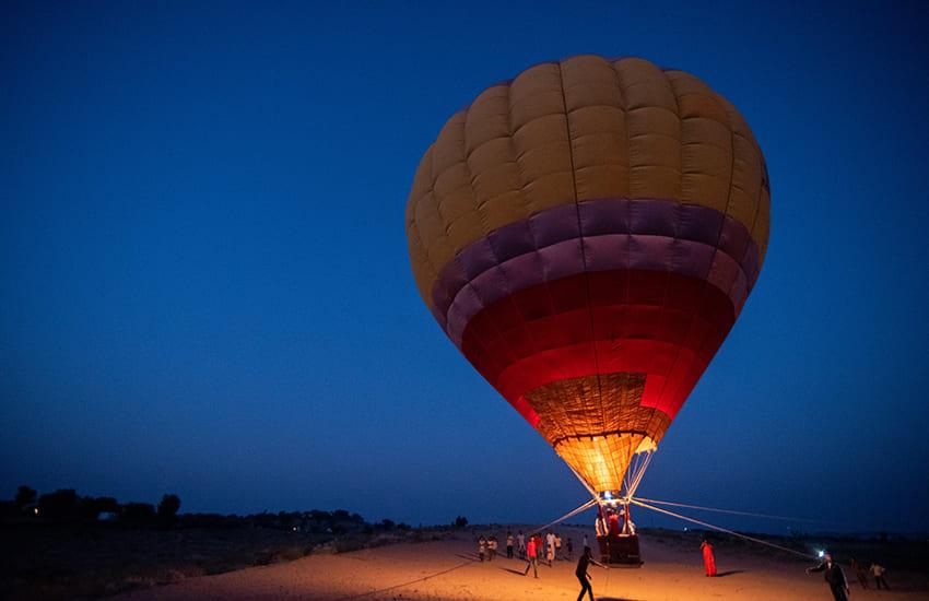 Hot Air Ballooning at Osian Desert Safari Camp